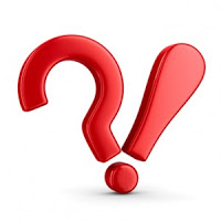 Inquiry and assertion - question mark and exclamation point